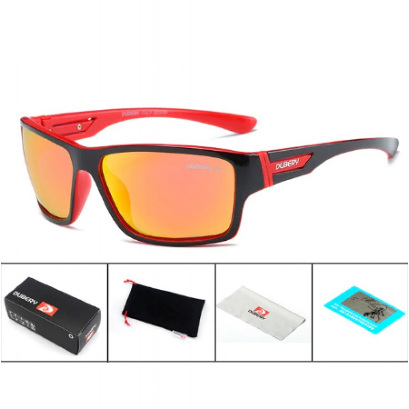 DUBERY Поляризирани Слънчеви очила Червени