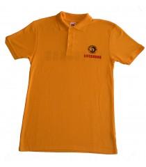 Мъжка Спасителска жълта Тениска с яка тип Лакоста